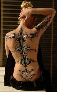 Trendy Tribal Tattoo