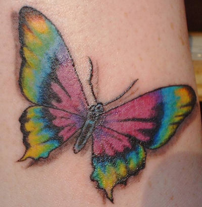 Tatto Design on 3d Butterfly Tattoos Designs   Tattoo Expo