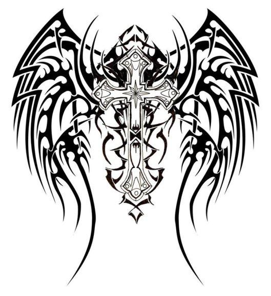 http://tattooexpo.files.wordpress.com/2010/02/uniquetribalwingscrosstattoodesign.jpg