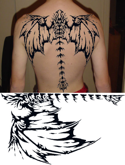 wing tattoo design. Wing Tattoo Designs For Guys.