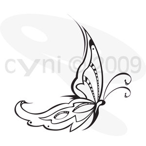 Buterfly Tatto on Butterfly Tattoo Designs Italic Style   Tattoo Expo