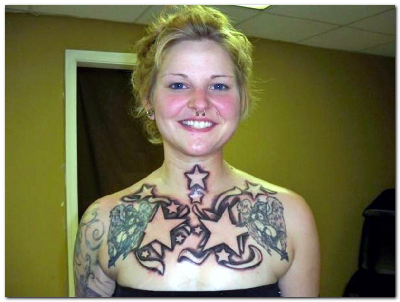 beauty star tattoo designs that cover the body alone a beautiful woman with