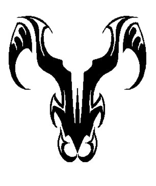 Big aries tattoo designs symbol | aries tattoos