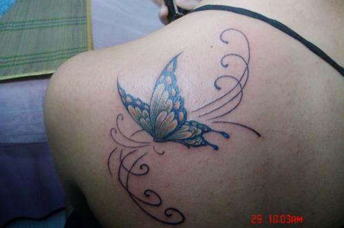 butterfly fairy tattoo designs girls tattoo expo. Black Bedroom Furniture Sets. Home Design Ideas