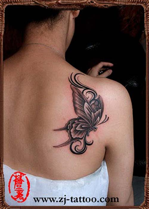 free butterfly tattoo designs for women | sexy butterfly tattoos