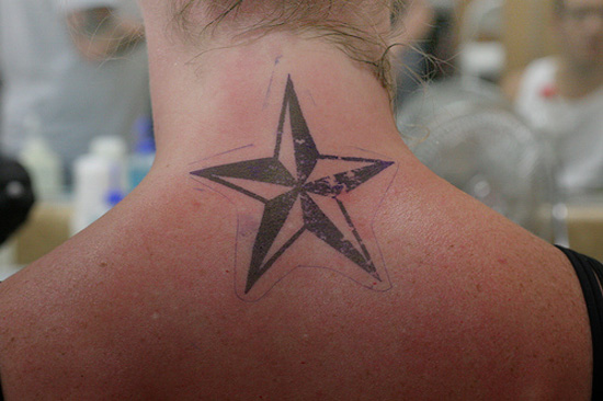 Back Shoulder Tattoos Designs: