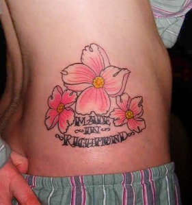 Sexy hawaiian flower tattoo designs for women hawaiian for Hawaiian tattoos for females