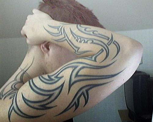 Tribal forearm tattoo designs for men Tribal forearm tattoo designs for men