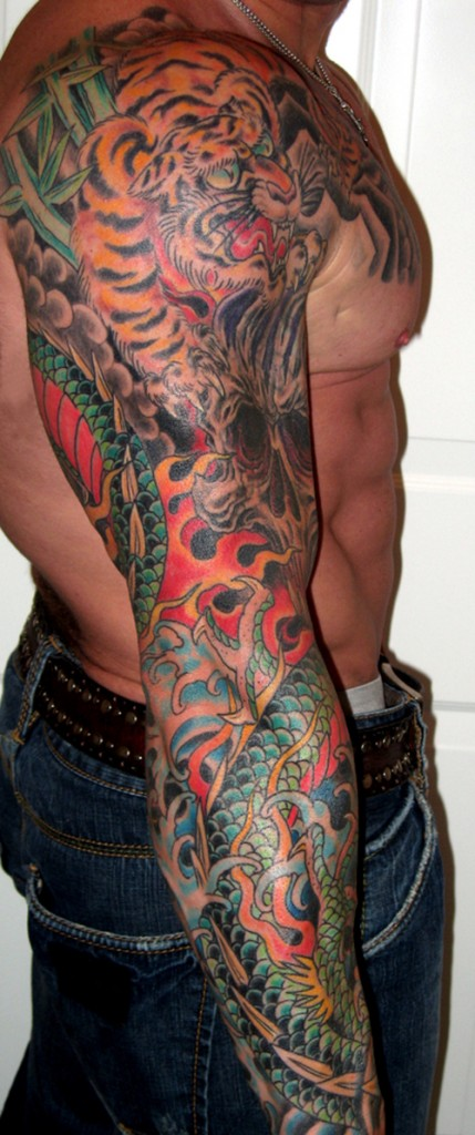 Mens Sleeve Tattoo Gallery: Arm Sleeve Tattoo Ideas For Guys