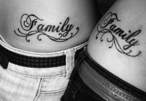 Names Word Tattoos
