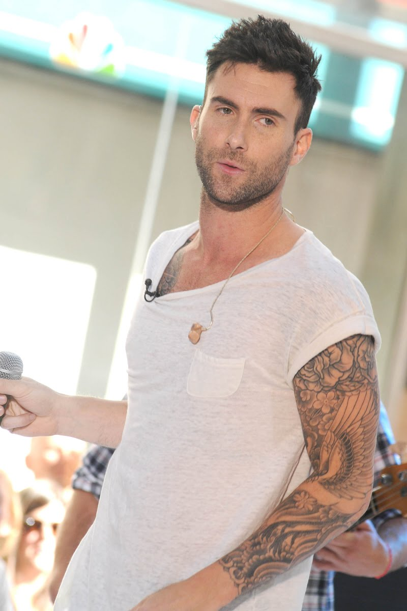 Adam levine tattoos fashion for style for Adam levines tattoos