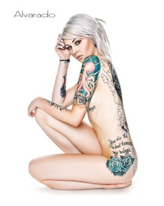 Woman Sleeve Tattoo